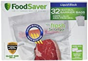FoodSaver Liquid Block Heat-Seal Quart Bags