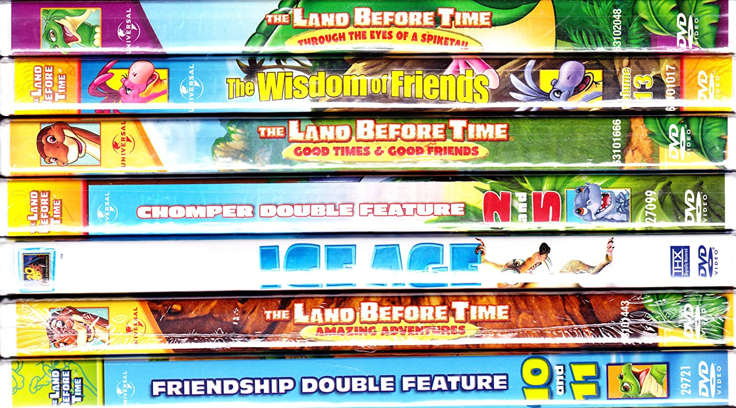 Amazon com: The Land Before Time: 2 Tales of Discovery and