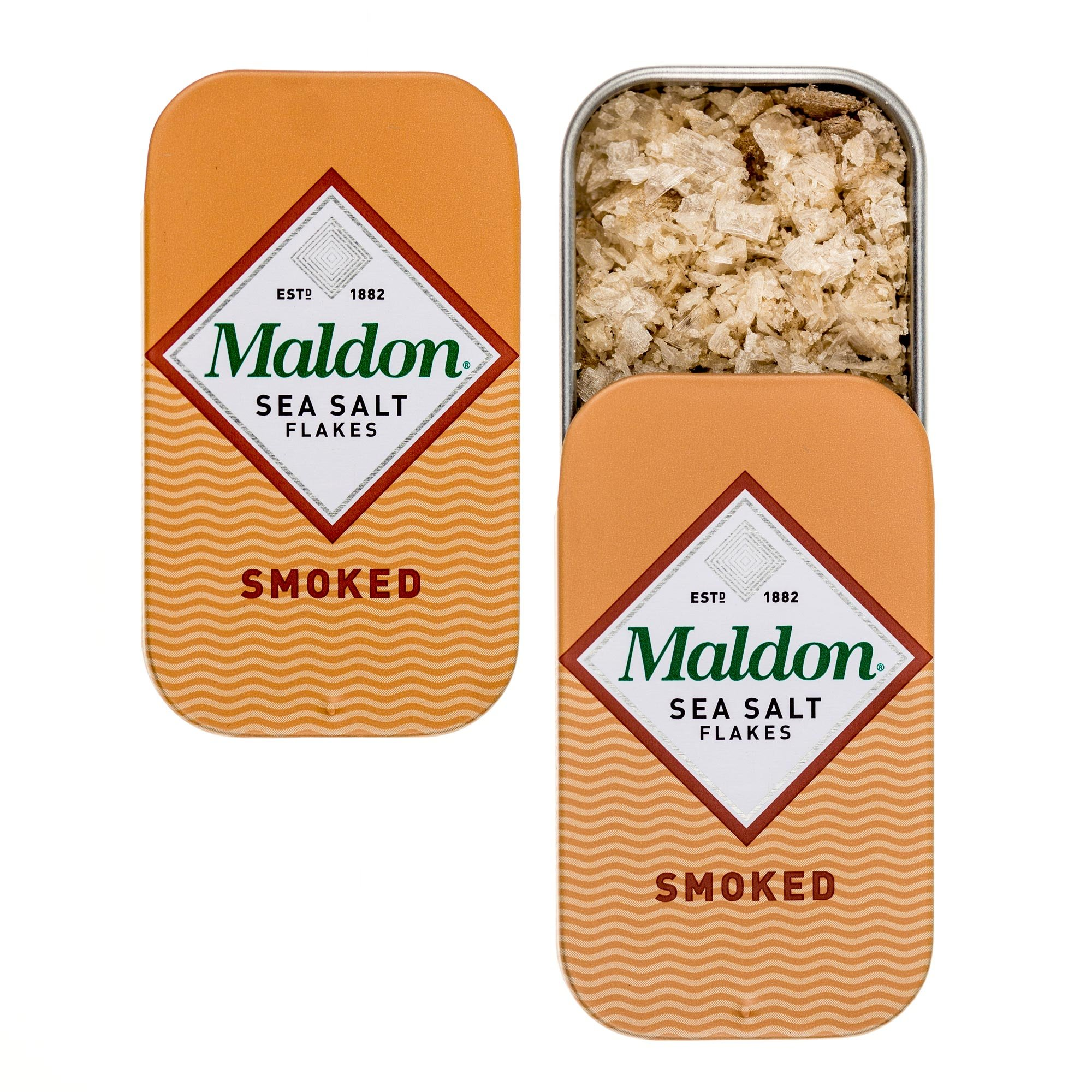 Maldon Smoked Sea Salt Pinch Tin - 0.35 Oz. (3 Pack)