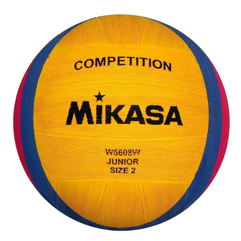 Mikasa, Pallone da pallanuoto W6608w, Giallo (gelb/blau/pink) 1213