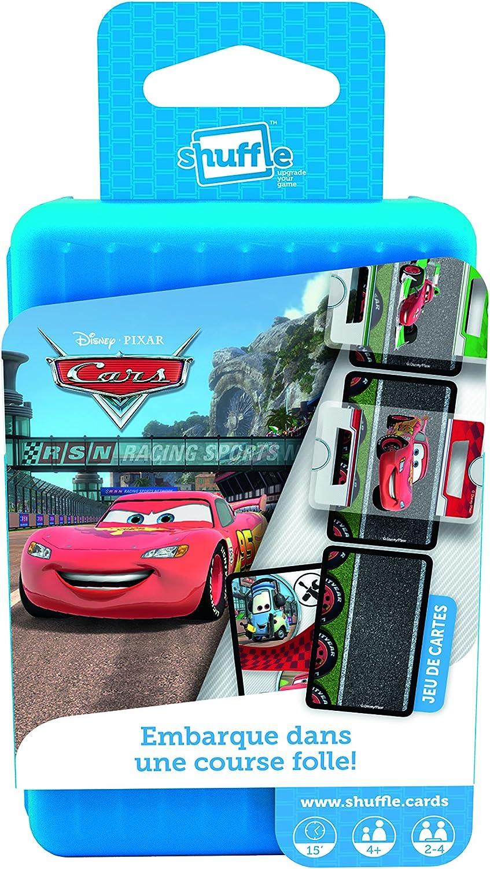 Cartamundi 100217034 - Baraja de Cartas Shuffle, razón: Disney Cars: Amazon.es: Juguetes y juegos