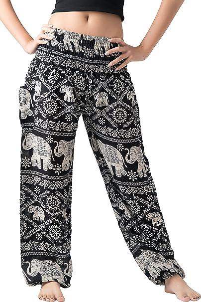 Amazon.com: Bangkokpants pantalones de mujer Harem ...