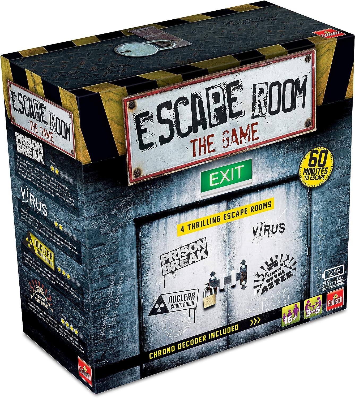 Escape Room: The Game - versión inglesa: Amazon.es: Juguetes y juegos