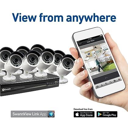 Swann SWNVK-874008-US Super HD with 8 x 4MP Surveillance DVR
