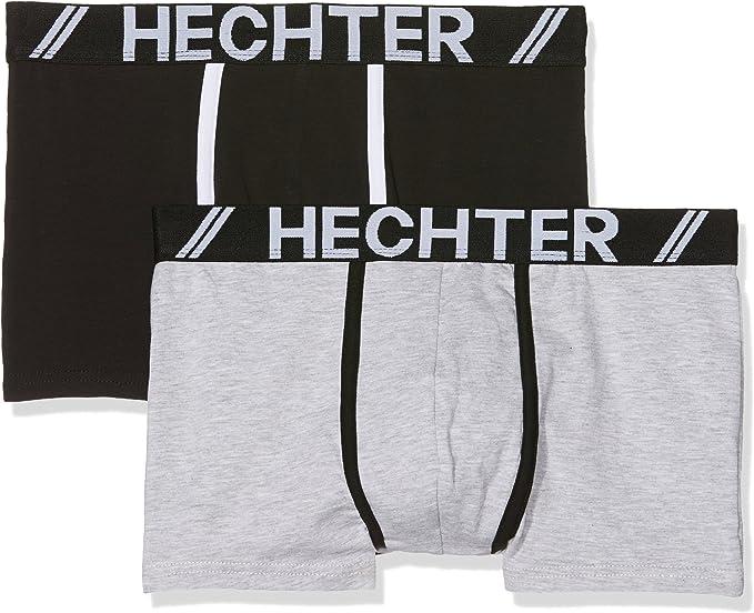 Hechter Studio HH.Sport.Box Shorts, Gris (Gris Chine/Noir Gris ...