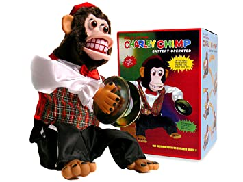 charley chimp cymbal playing monkey