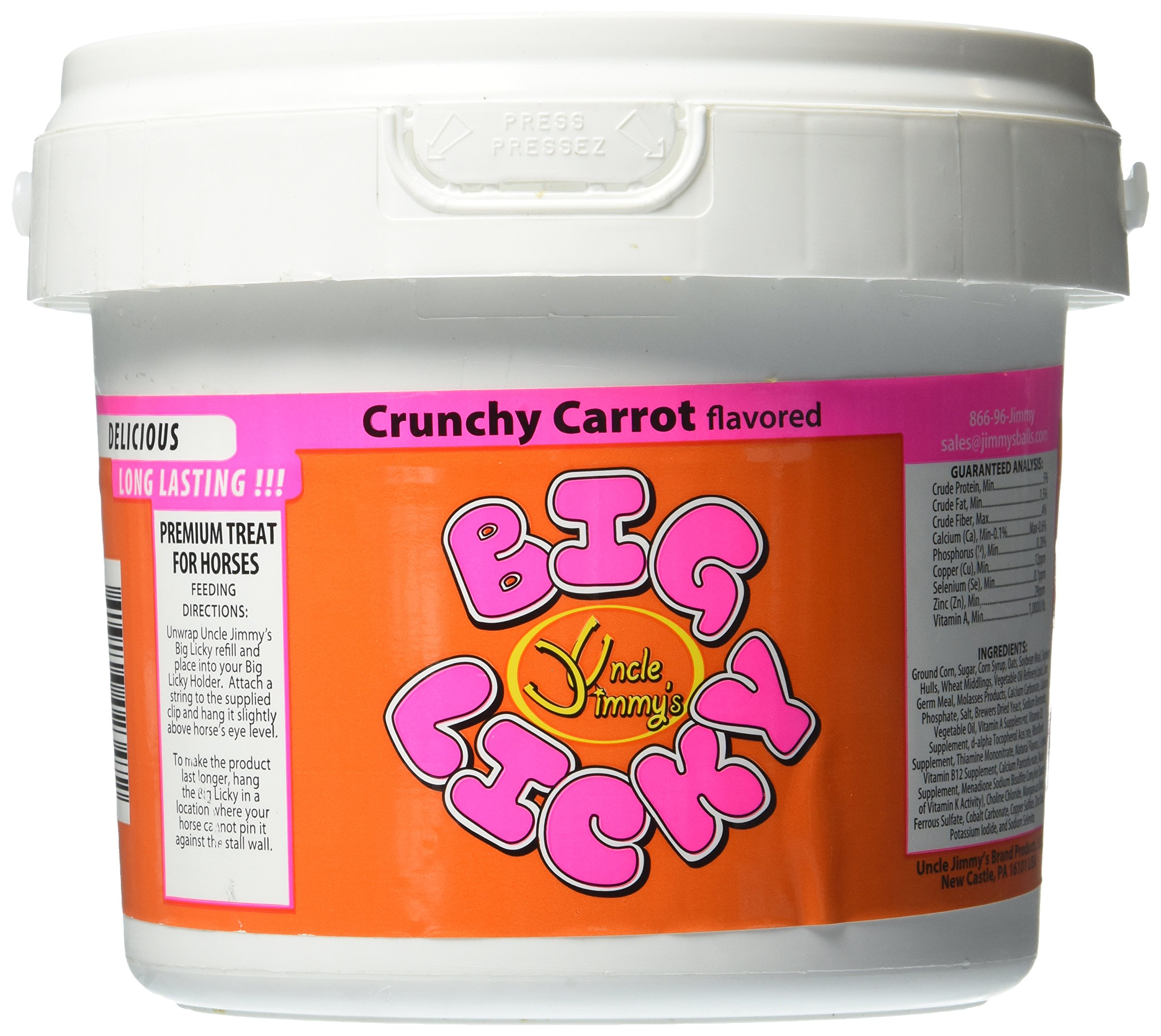 Uncle Jimmys Carrot Big Licky Refills Nutritional Supplements by Uncle Jimmys (Image #1)