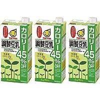 マルサンアイ 調製豆乳カロリー45%オフ 1L×3本