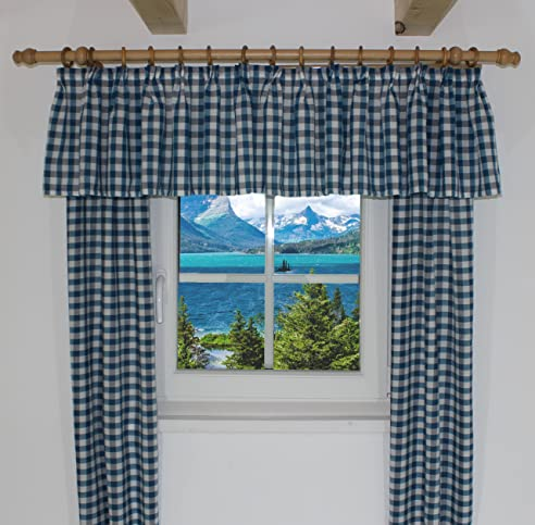 Landhaus Vorhänge querbehang passend für vorhang landhaus design finja querbehang