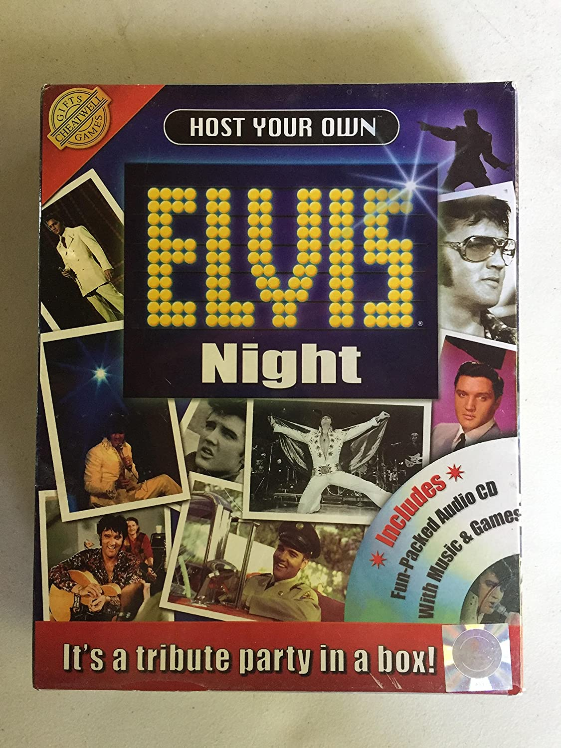 Host your own elvis night tribute party kit by Unknown (0100-01-01) B000PRSUVE | Produktqualität