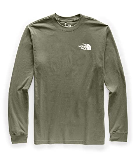 08a536ddd The North Face Men's Long Sleeve Red Box Tee