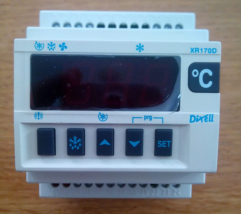 Controlador digital para mediana y bajas temperaturas xr170d de dixell: Amazon.es: Hogar