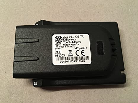 vw bluetooth pairing touchadapter uhv 3c0 051 435 ta 3c0051435ta rh amazon co uk