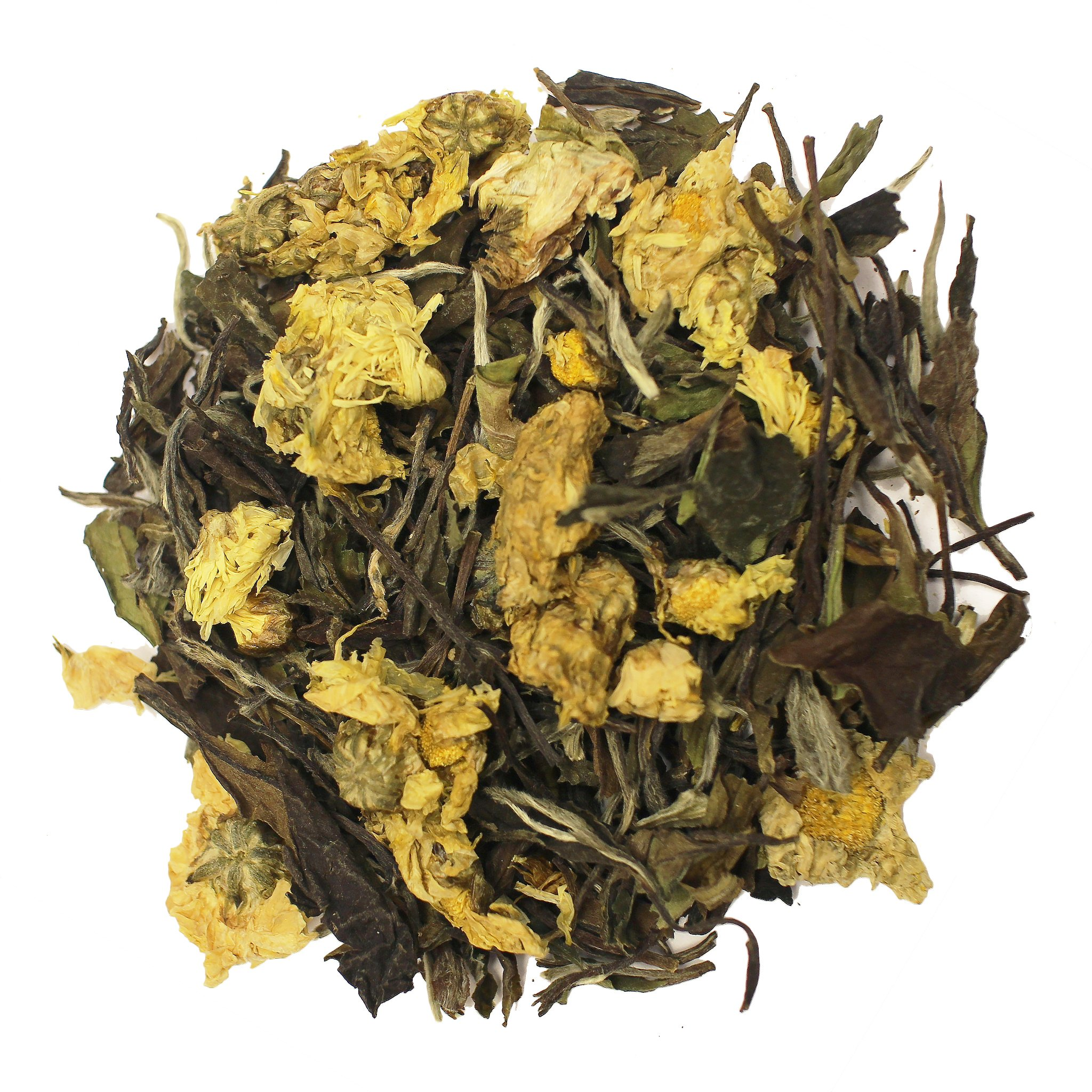 The Tea Farm - Chrysanthemum White Floral Tea - Loose Leaf White Tea (16 Ounce Bag) by The Tea Farm (Image #1)