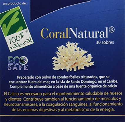 100% natural Coral Natural Minerales - 30 Sobres: Amazon.es ...
