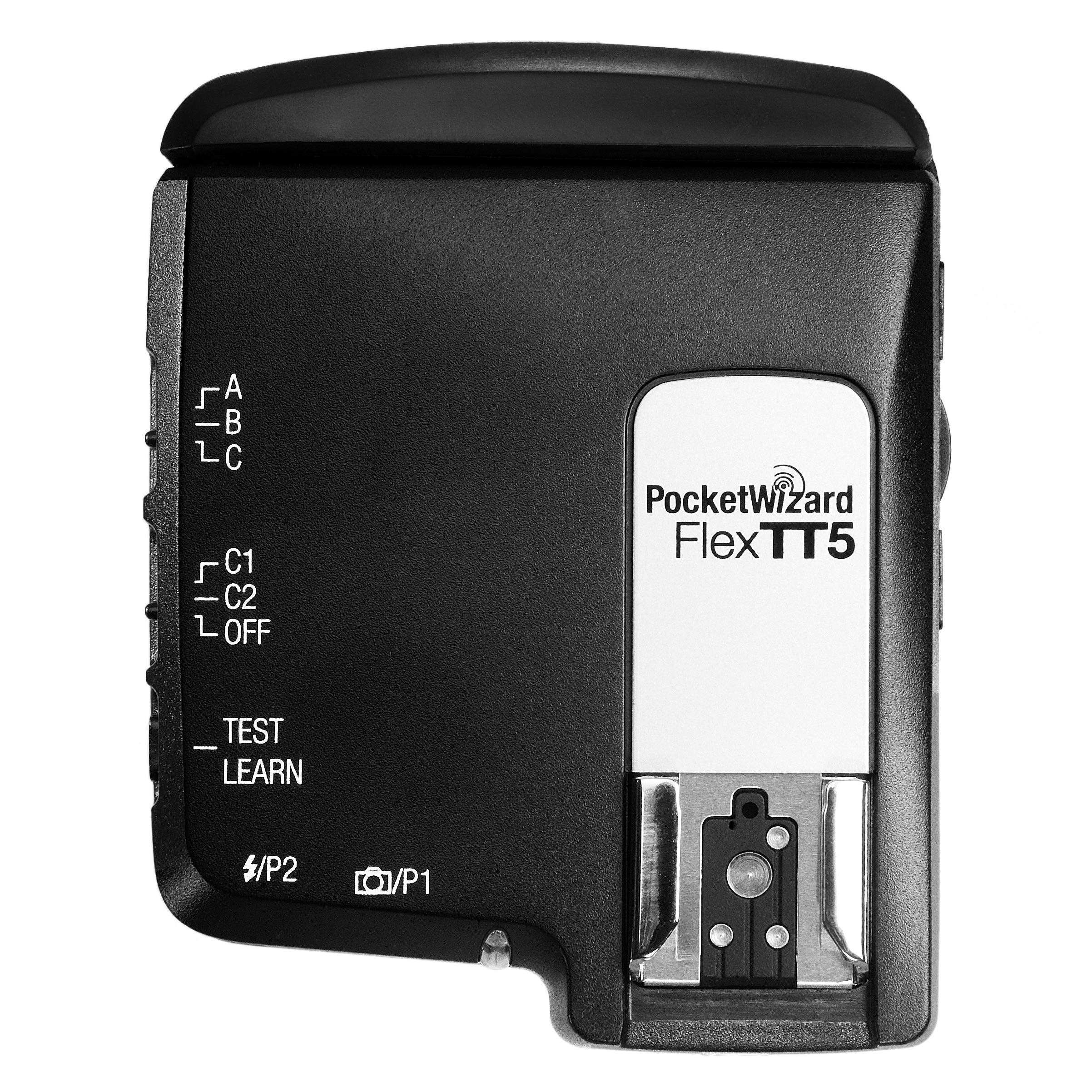 PocketWizard FlexTT5 Transceiver Replacement Hot Shoe Foot Module for Nikon Camera by PocketWizard