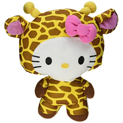 "Large 10"" Giraffe Hello Kitty Big Top Circus Animal Plush Doll: Beauty"