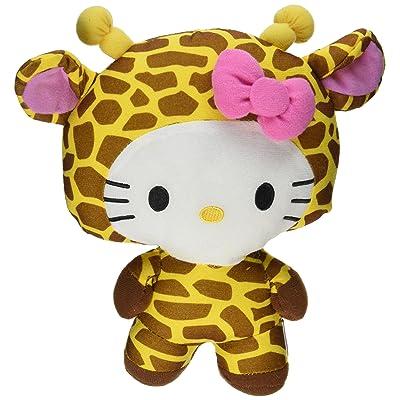 "Large 10\"" Giraffe Hello Kitty Big Top Circus Animal Plush Doll: Beauty [5Bkhe0201848]"