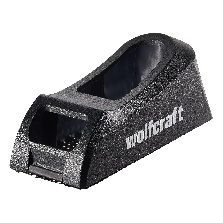 Wolfcraft 4013000 Blockhobel fü r Holz und Gipskarton, schwarz Wolfcraft GmbH