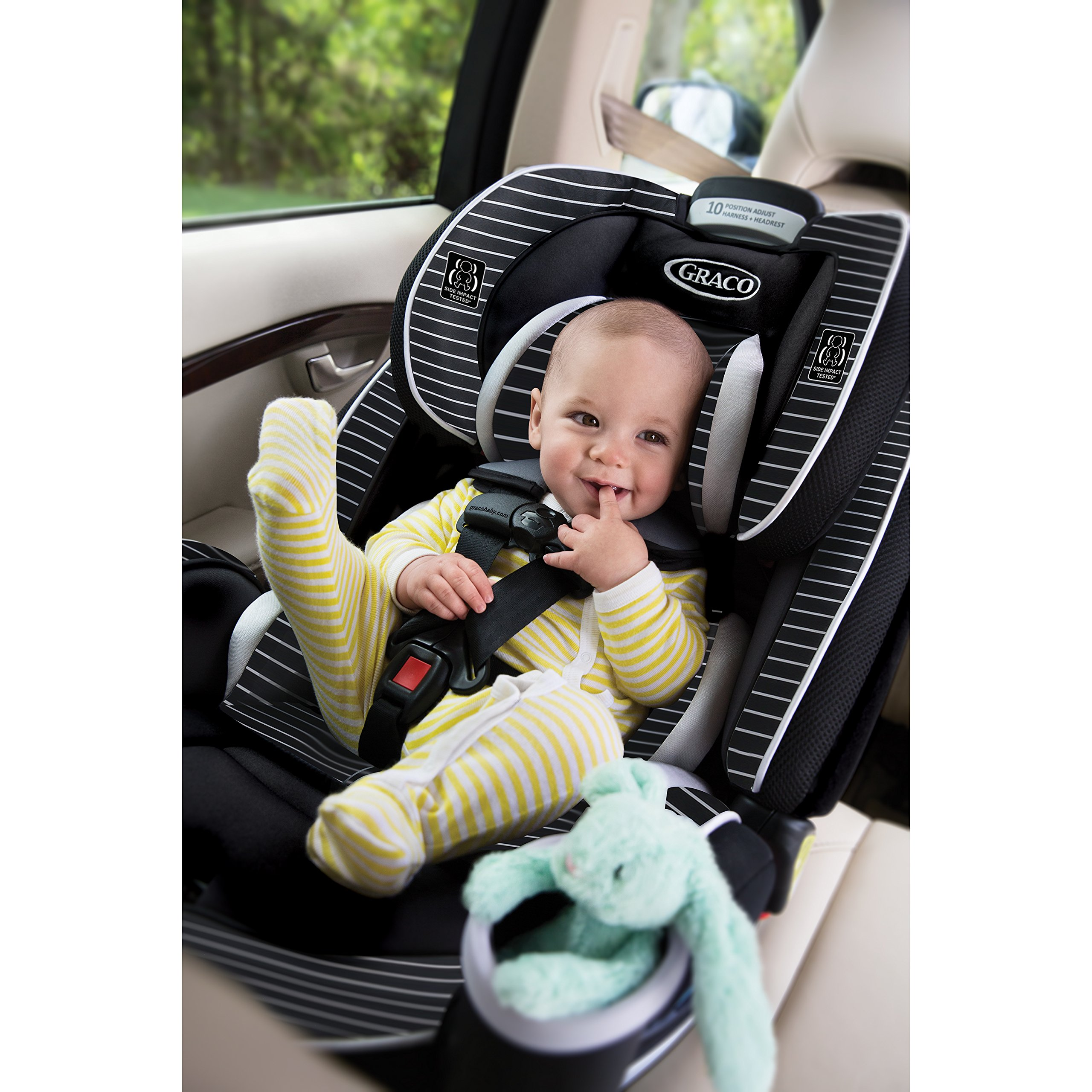 Graco 4Ever 4-in-1 Convertible Car Seat, Studio by Graco (Image #5)