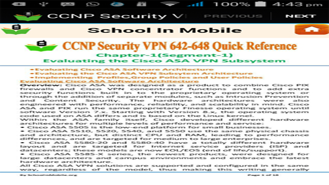 Amazon com: CCNP Security VPN 642-648 Reference free