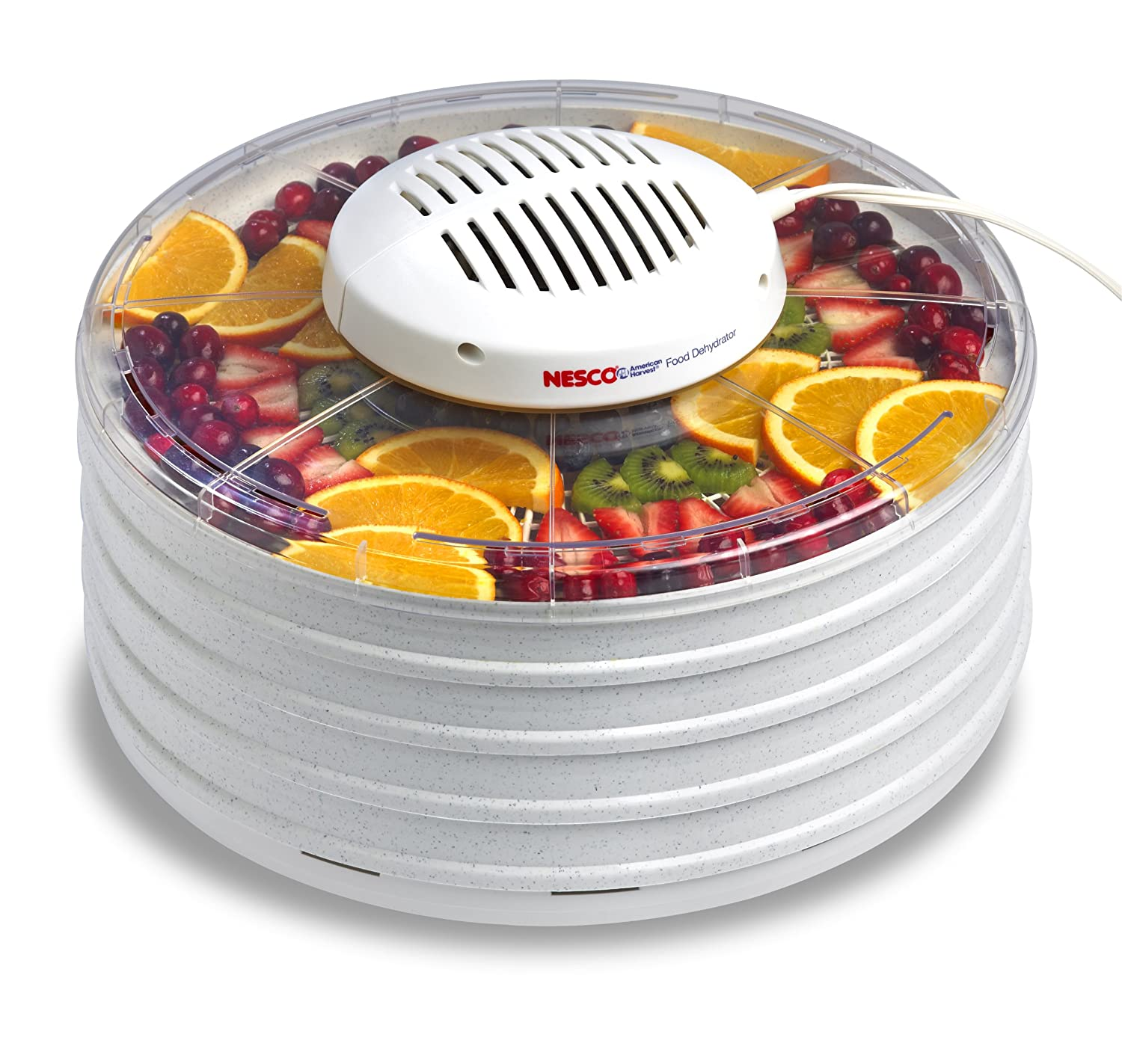 The Nesco FD-37A American Harvest is a high quality yet cheap food dehydrator.