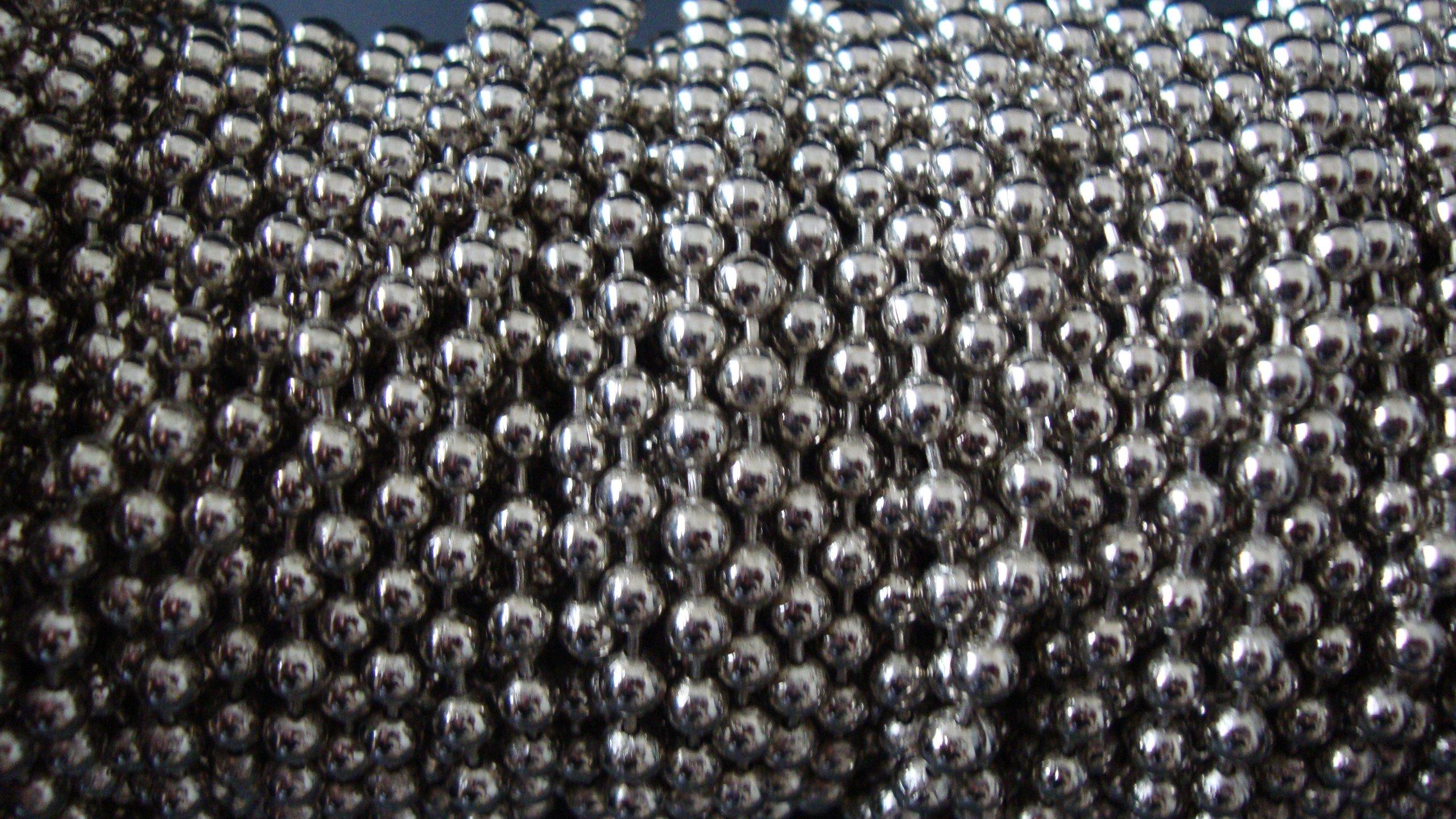 Ball Chain #10 Spool Nickel Plated Steel 30 Feet