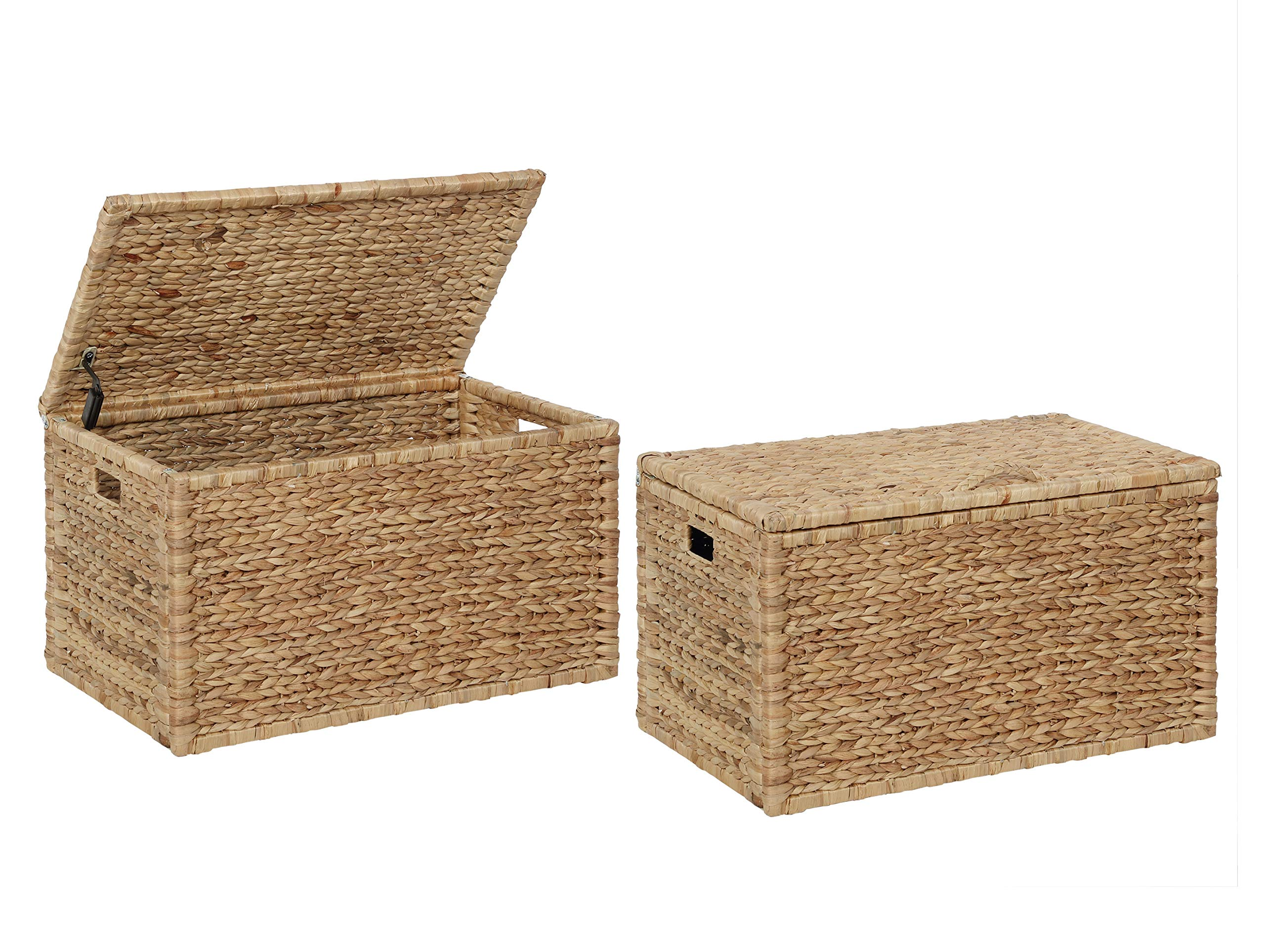 eHemco Heavy Duty Water Hyacinth Storage Trunk in Natural Color by eHemco