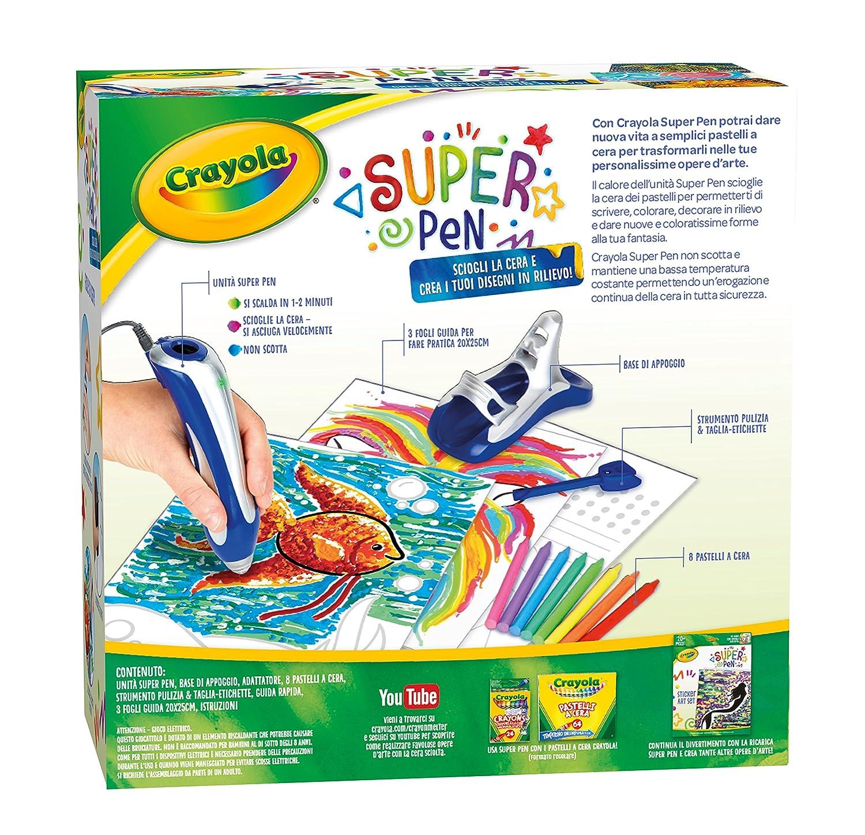 Crayola Super Pen Sciogliere I Pastelli A Cera E Creare Disegni In