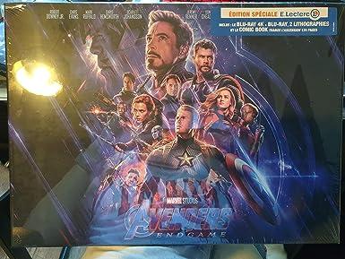 Avengers Endgame Edition Limitée Leclerc avec goodies: Amazon.es: Cine y Series TV