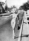 Madonna: nackte Anhalterin | US Import, Poster [59 x 84 cm]