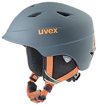 Uvex airwing 2 Pro Snowboard, Esquiar Gris, Naranja Casco de protección - Cascos de