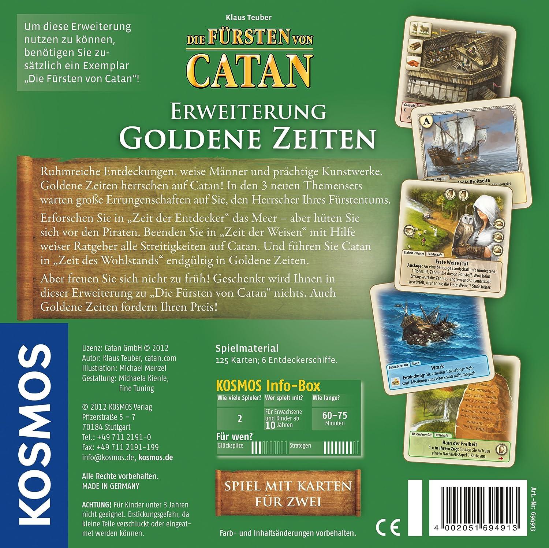 KOSMOS 69491 - Juego de Tablero (Multi, 205g, 5 cm, 20,5 cm): Teuber, Klaus: Amazon.es: Juguetes y juegos