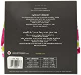 Kushies Swim Diaper, Fuchsia Daisy Print, X-Large