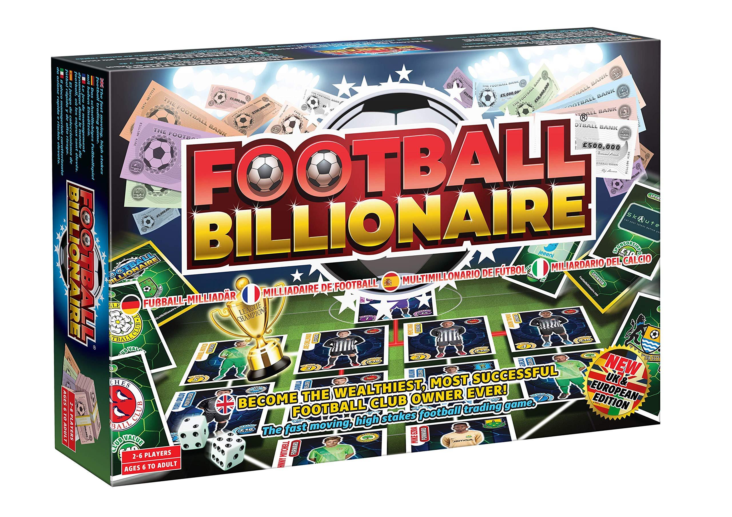 Football Billionaire Board Game 2020/21 3rd Edition