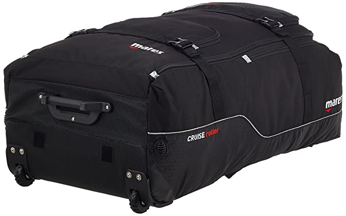 Mares Cruise Back Pack Roller Suitcase - Black Black  Amazon.co.uk  Sports    Outdoors 046042dbfc692