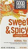 Good Earth Sweet & Spicy Caffeine Free, Herbal Tea bags, 18 ct