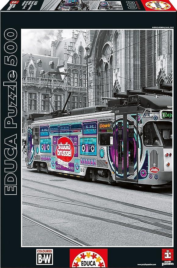 1 opinioni per Educa 16358- Puzzle 500 Ghent's Tram, Belgium Coloured Black & White