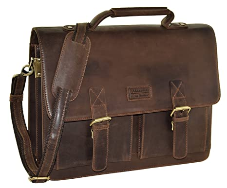 "2b9b53c54b08b MENZO Lederaccessoires ""Oxford"" Buffalo Vintage Leder ..."