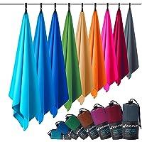 Microvezel handdoeken in ALLE afmetingen/12 kleuren - ultralicht, compact, & sneldrogend - Microvezel handdoek - de…