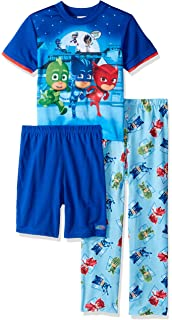 PJ Masks Boys 3-Piece Pajama Set