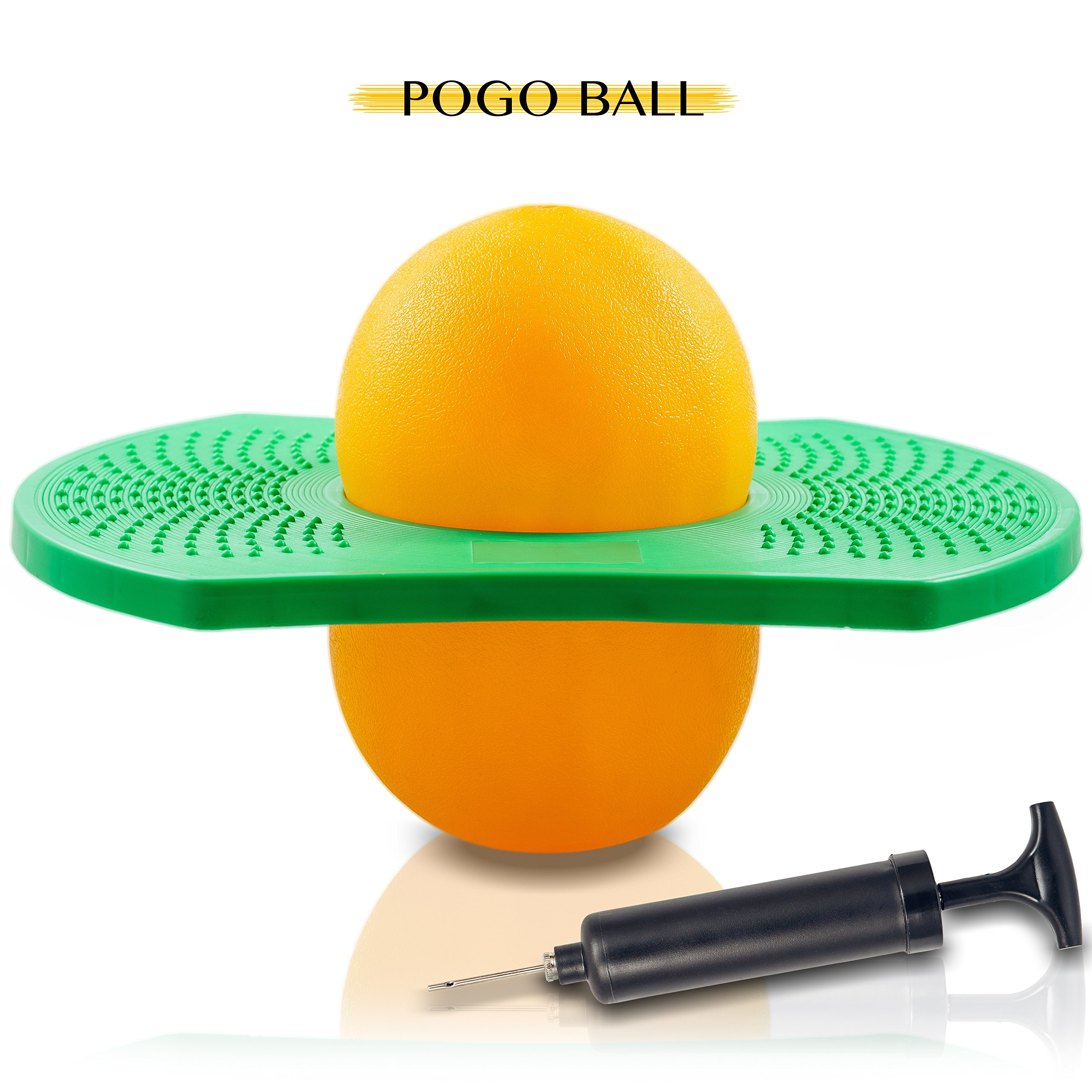 Pogo Ball Balance Board for Kids – Eco-Friendly PVC Suitable for Indoor, Outdoor Activities by MALIMORIS