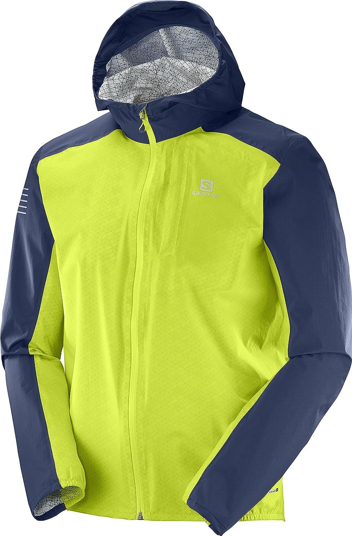 [サロモン]BONATTI WP JKT M メンズ B0755FLXGS EU M (日本サイズL相当) Acid Lime/Dress Blue Acid Lime/Dress Blue EU M (日本サイズL相当)