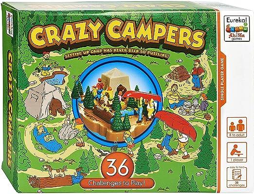Eureka- Crazy Campers AhHa Juego, Multicolor (473541) , color/modelo surtido: Amazon.es: Juguetes y juegos