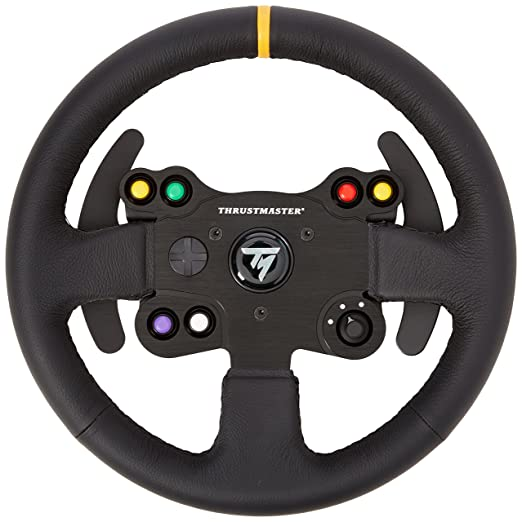 58 opinioni per Thrustmaster Tm Leather 28 GT Wheel Add on -PC /PS3/PC/XBOX ONE