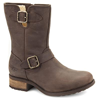 UGG Australia Womens Chaney Leather Boot Java Size 7