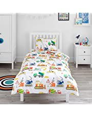 Bloomsbury Mill - Construction Vehicles - Bedding Set
