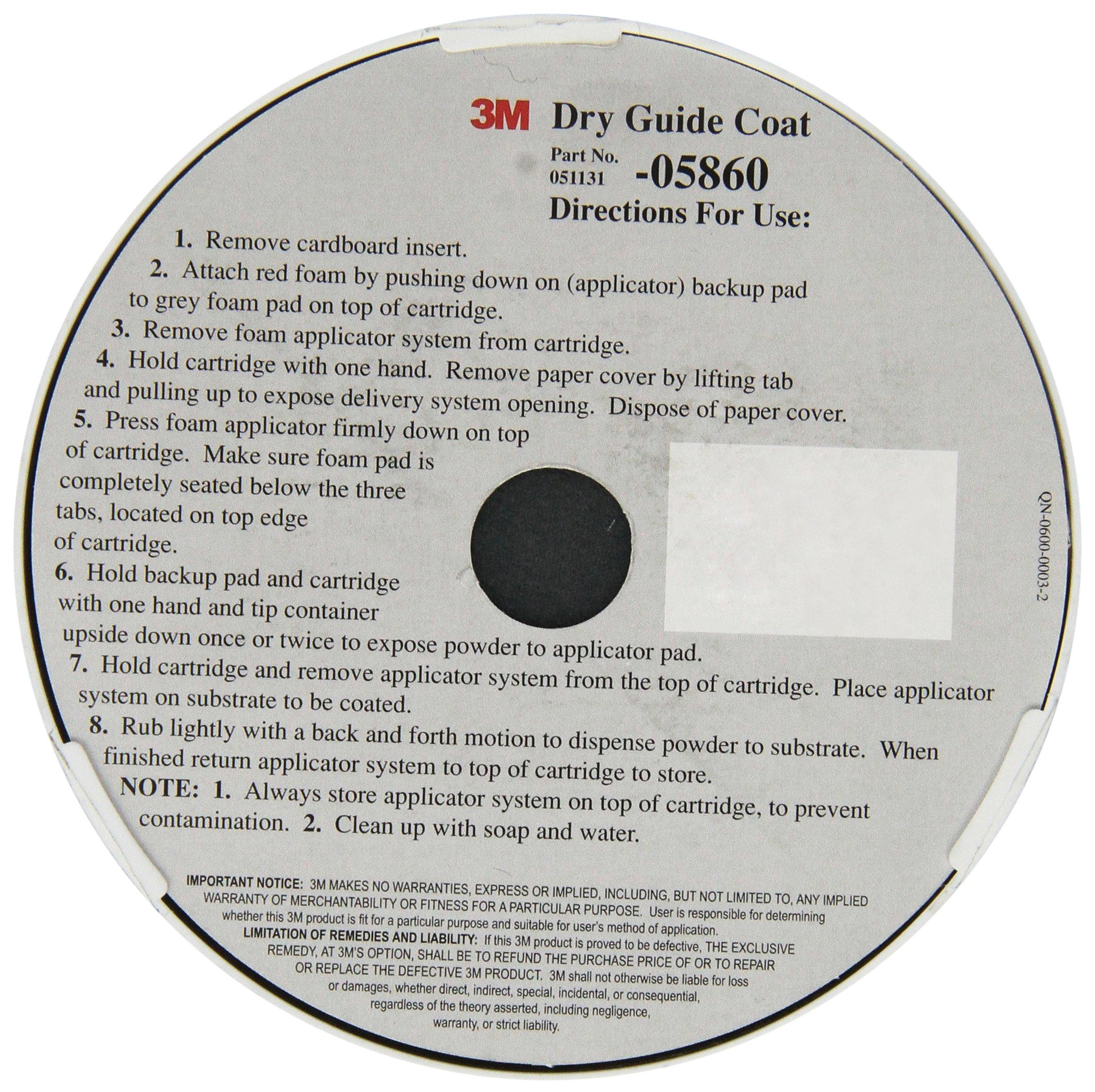 3M 05860 Dry Guide Coat Cartridge - 50 g