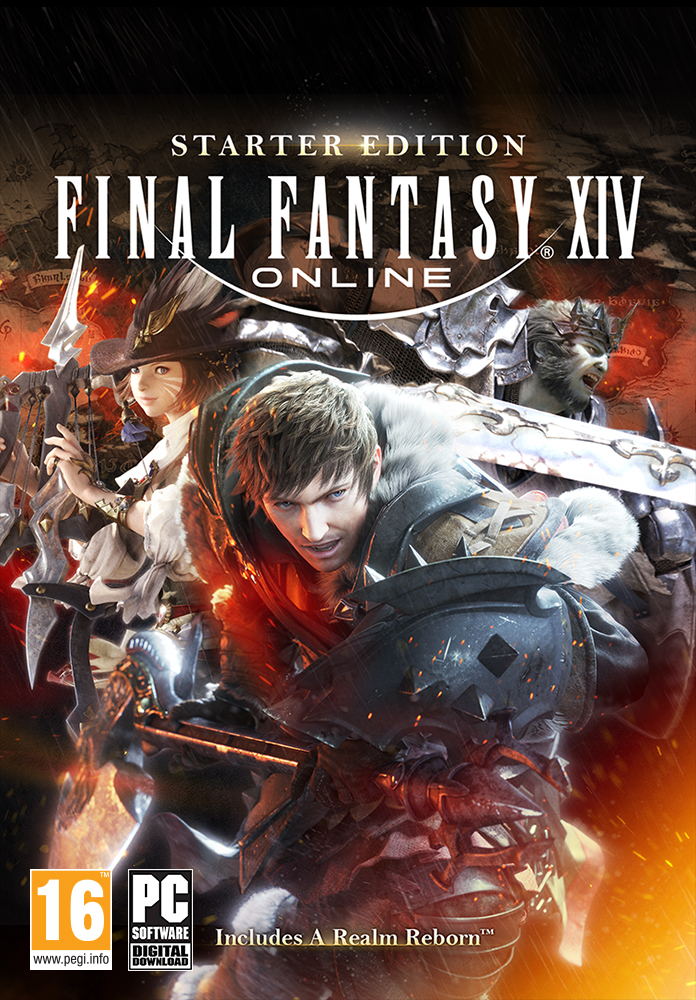FINAL FANTASY XIV Online Starter Edition [PC Code]: Amazon co uk: PC
