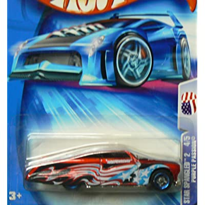 Hot Wheels Purple Passion Star Spangled 2 4/5 #126 2004: Toys & Games